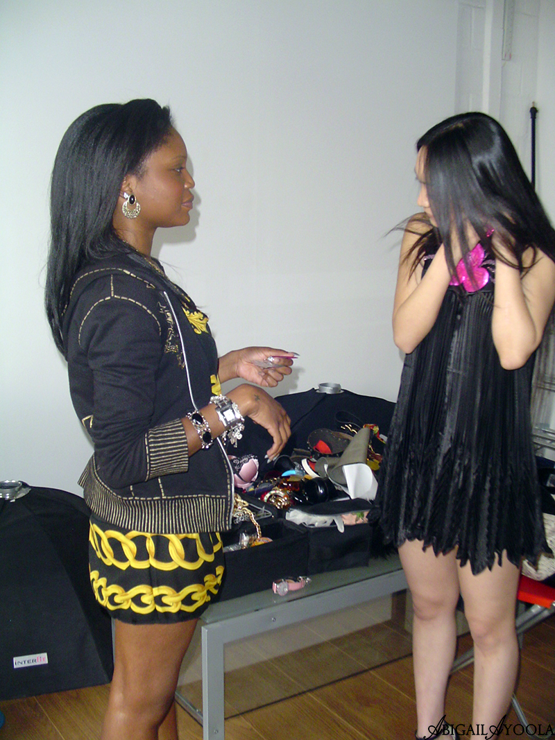 BEHIND THE SCENES OF BBC CAMPAIGN FASHION STYLING