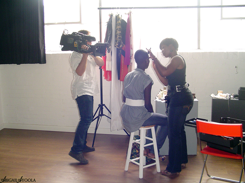 BEHIND THE SCENES OF BBC CAMPAIGN MAKEUP