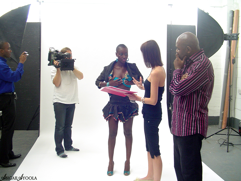 BEHIND THE SCENES OF BBC CAMPAIGN FASHION SHOOT