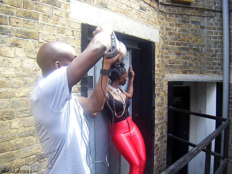 HYPE HAIR AWARDS SHOOT | BEHIND THE SCENES