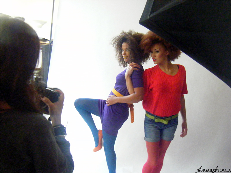 BEHIND THE SCENES AT RUFFLE & BRAMBLE CAMPAIGN PHOTOSHOOT
