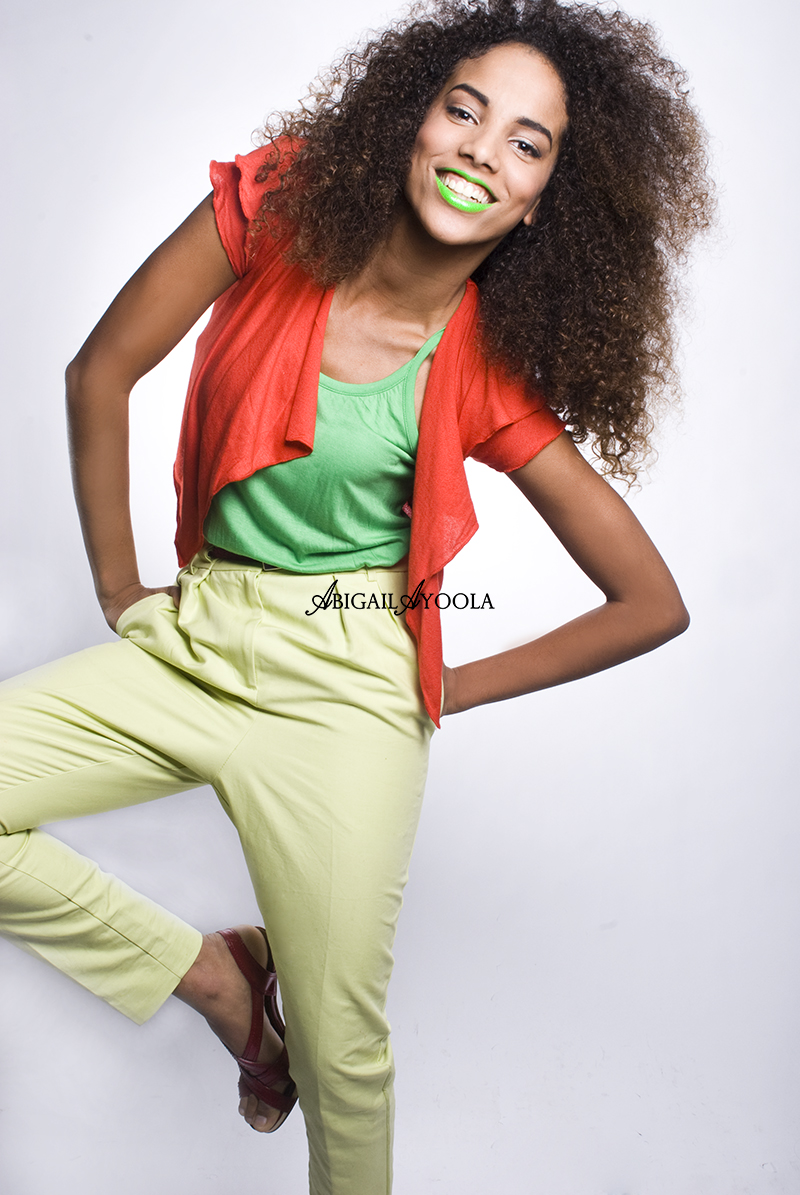 RUFFLE & BRAMBLE CURLY HAIR CAMPAIGN EDITORIAL