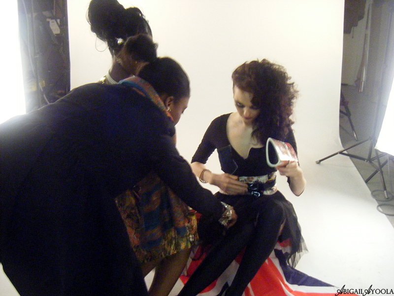 LONDON OLYMPICS 2012 EDITORIAL PHOTOSHOOT | BEHIND THE SCENES