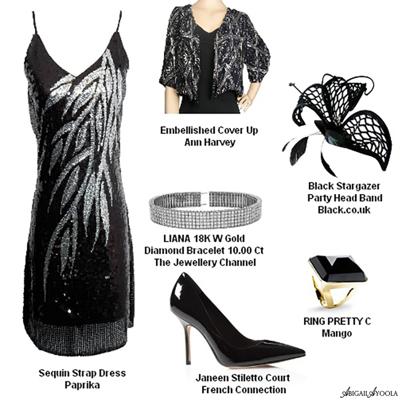 BLACK BEAUTY ROYAL WEDDING GUEST OUTFIT INSPIRATION