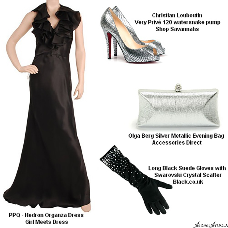 SILVER SIREN WEDDING GUEST OUTFIT INSPIRATION