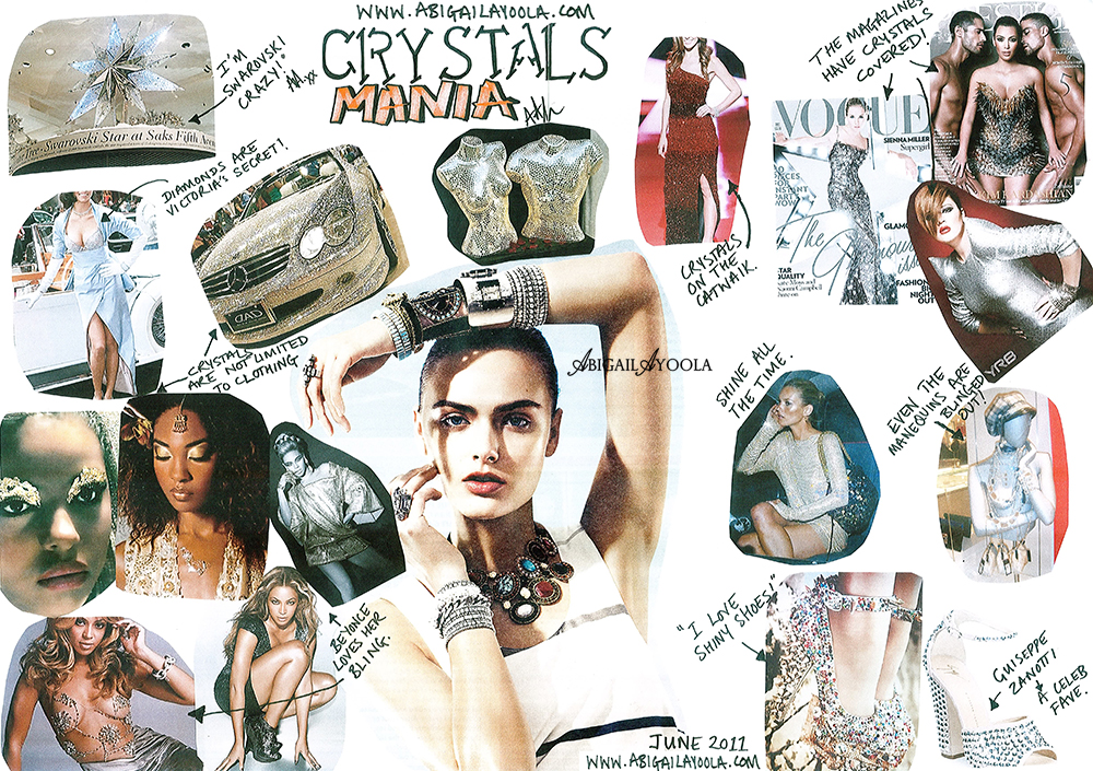 CRYSTALS MANIA MOOD BOARD FOR JUNE