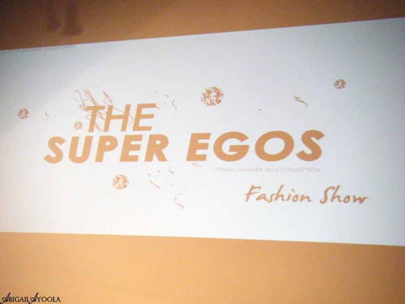 ARA JO & THE SUPER EGOS S/S 2012 LFW SHOW