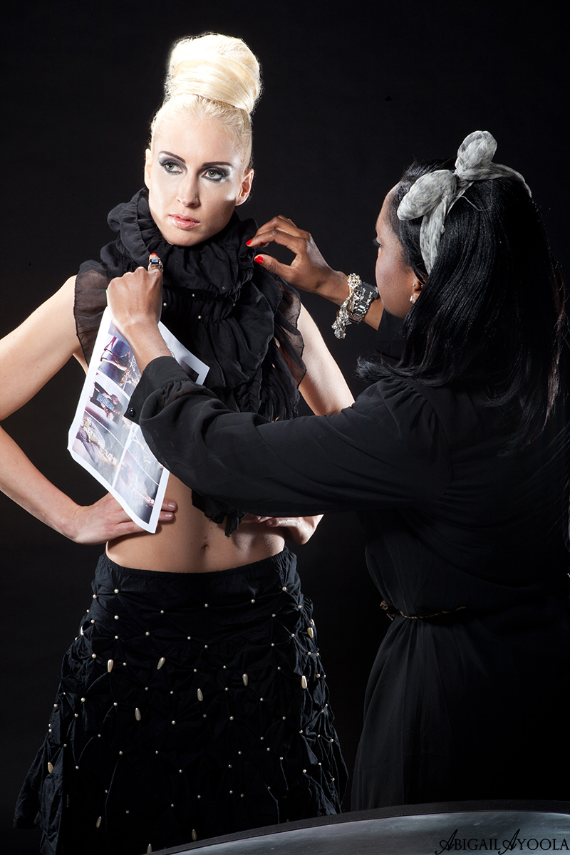 BLACK TO FRONT EDITORIAL PHOTOSHOOT | BEHIND THE SCENES