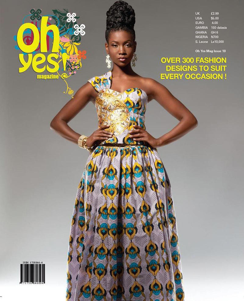 OH YES MAGAZINE COVER EDITORIAL