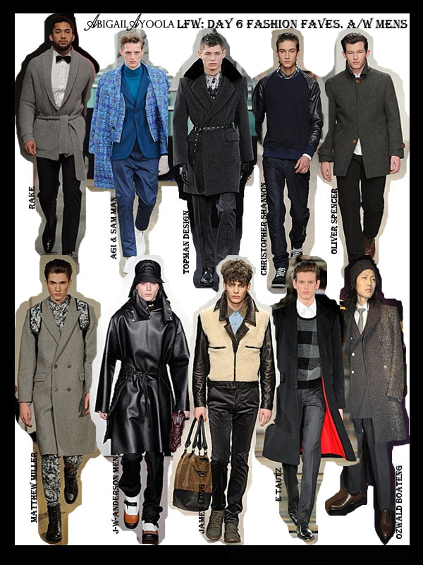 DAY 6 OF LFW A/W 2012 FAVOURITES