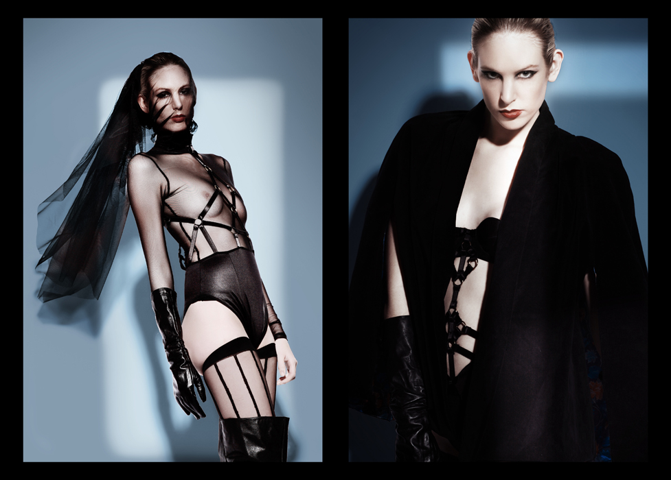 SEE.7 MAGAZINE BLACK & BLUE EDITORIAL