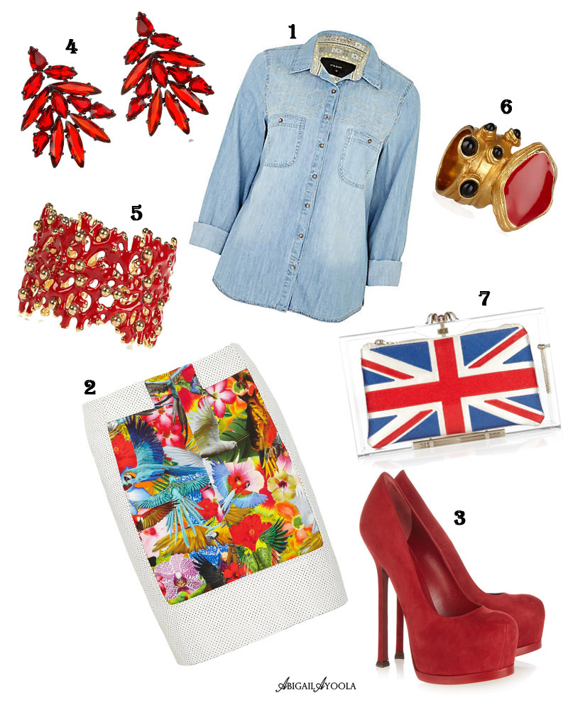 DAYTIME DIAMOND JUBILEE OUTFIT IDEA