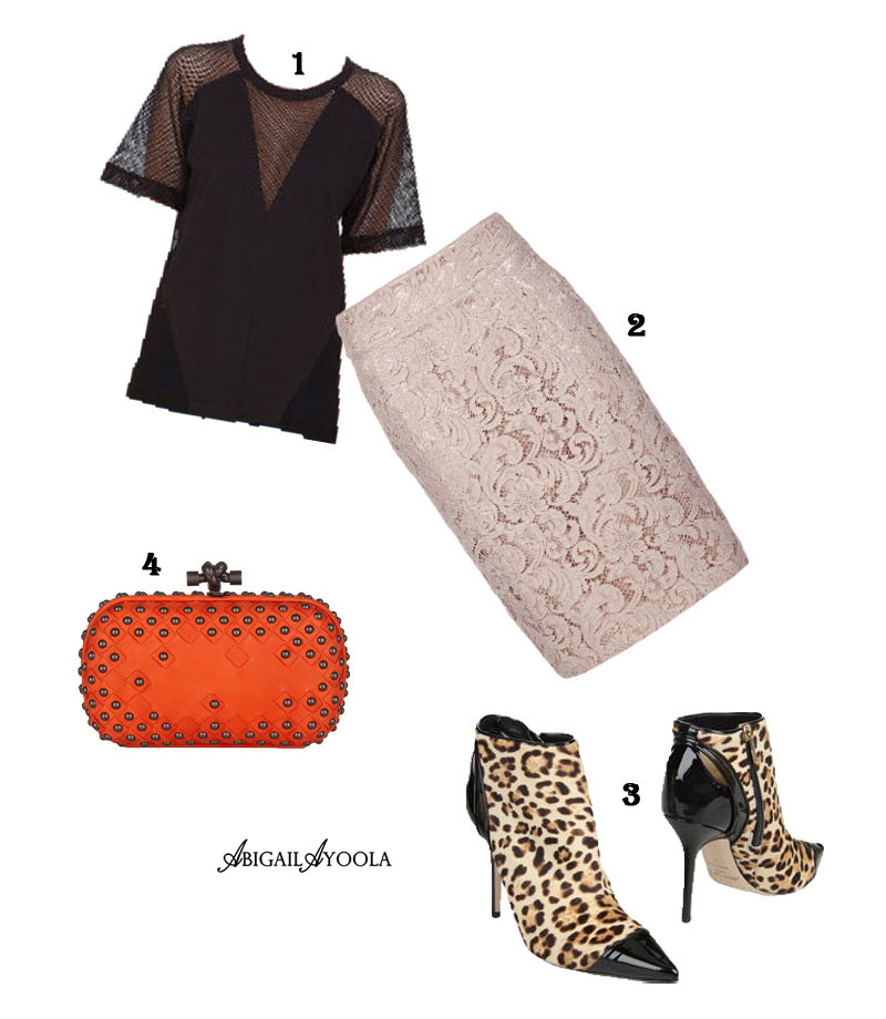 LEOPARD & LACE OUTFIT INSPIRATION