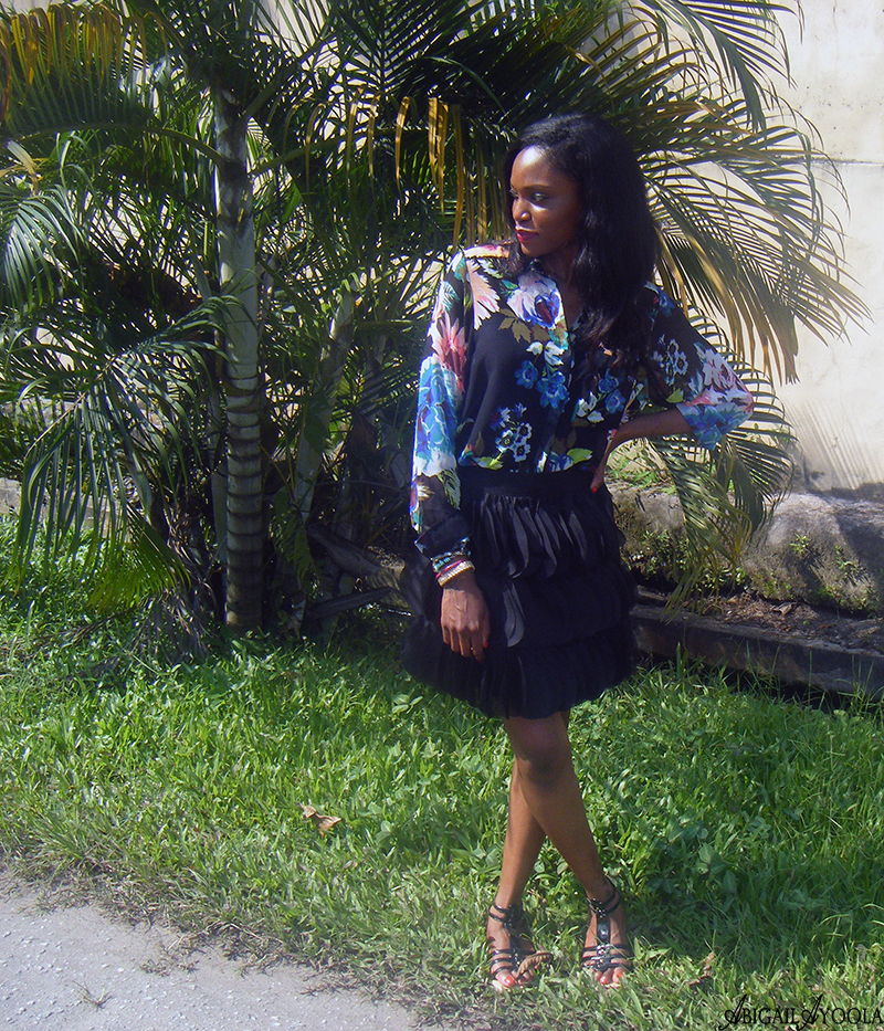 HOW TO STYLE A FLORAL SHIRT