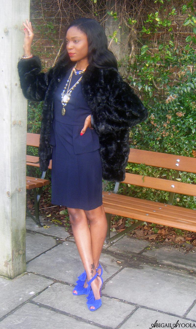 STYLING A PEPLUM DRESS