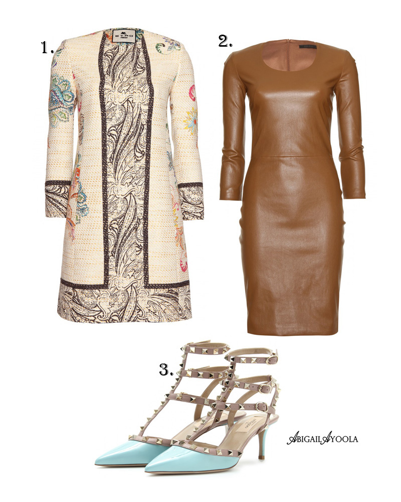 LEATHER DRESS OUTFIT INSPIRATION