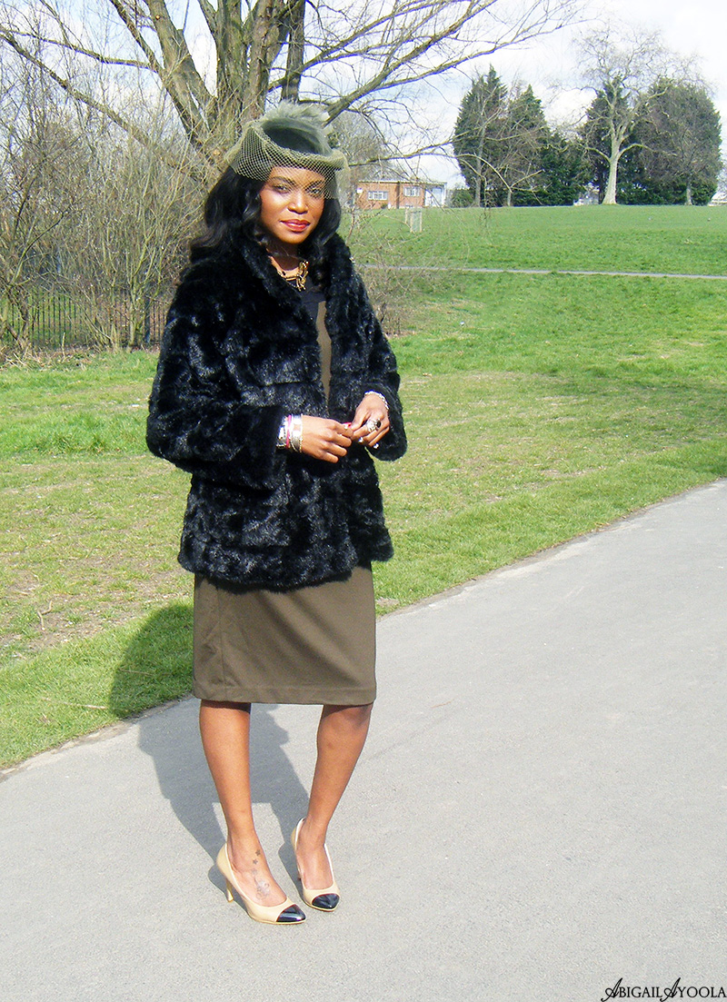 STYLING A COLOUR BLOCK DRESS