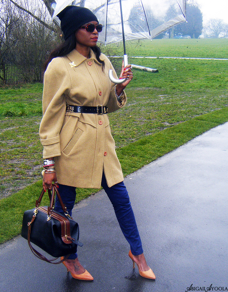 CHIC RAINY DAY OUTFIT