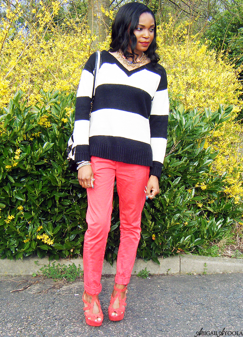 HOW TO WEAR A STRIPED JUMPER