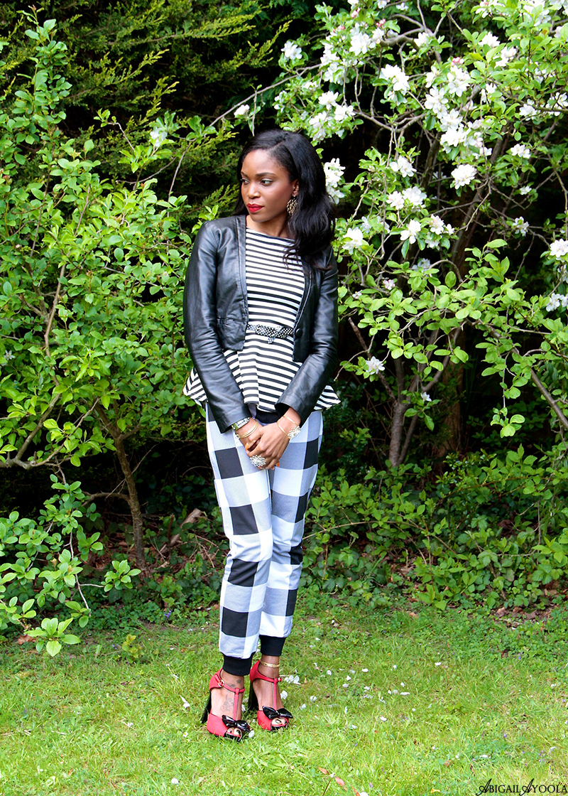 HOW TO WEAR STRIPES AND CHECKS