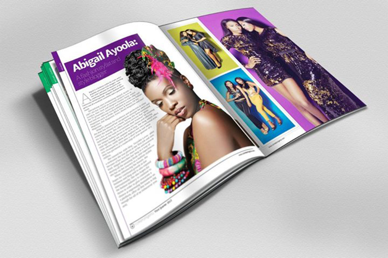 Fashion Stylist Abigail Ayoola Featured in Come To Nigeria Magazine