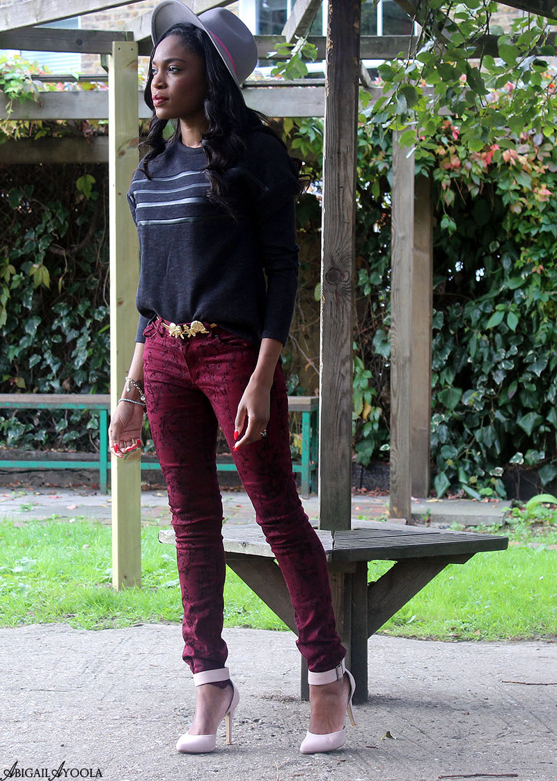 HOW TO STYLE BAROQUE JEANS