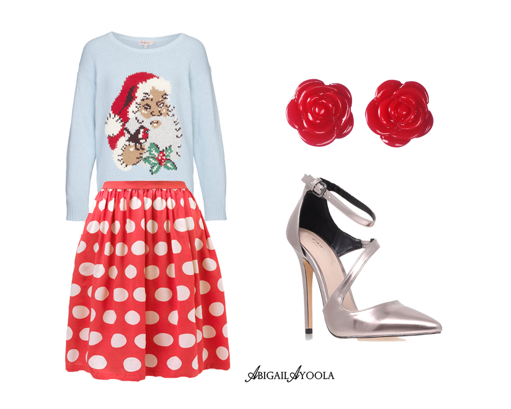 AN OUTFIT OF CHRISTMAS CUTENESS