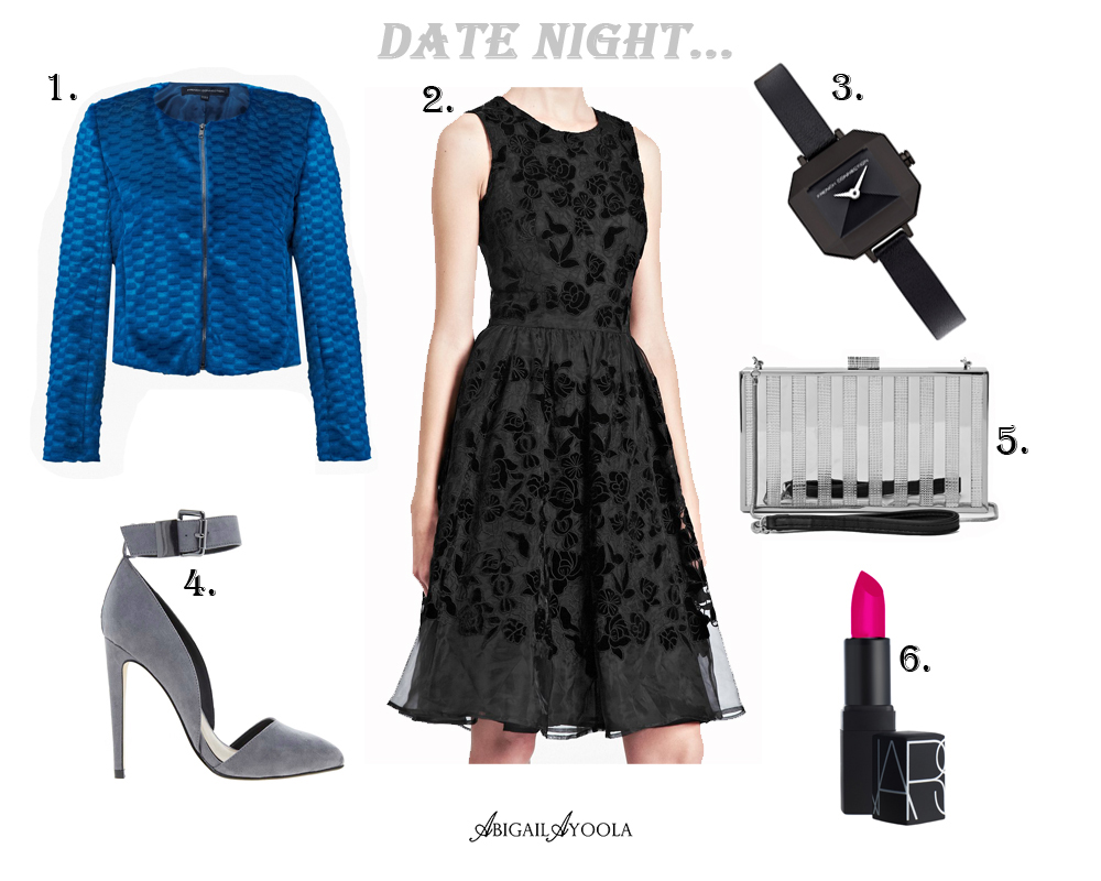 A BLACK DRESS FOR DATE NIGHT