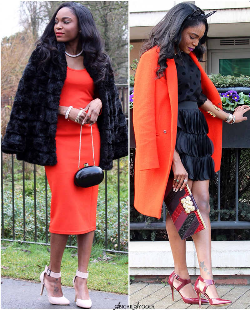 ORANGE & BLACK OUTFIT IDEAS
