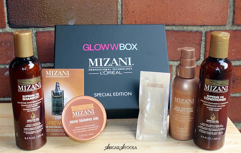 GLOWWBOX x MIZANI BEAUTY BOX