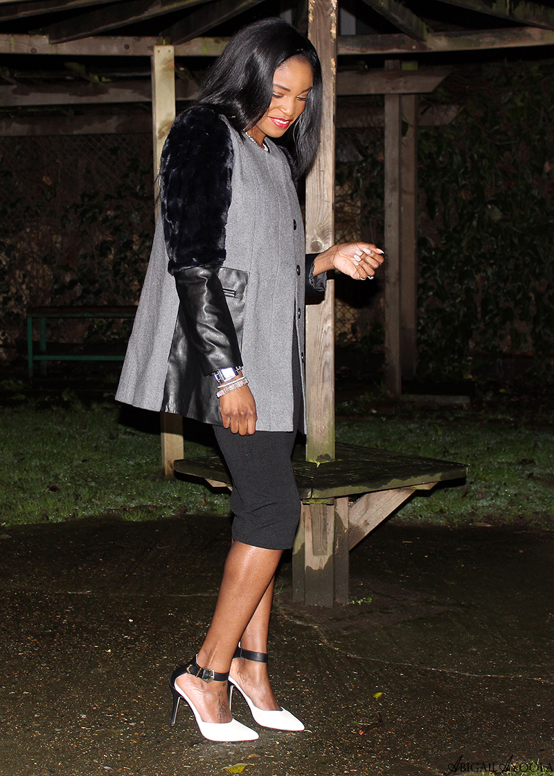 STYLING AN EVENING COAT