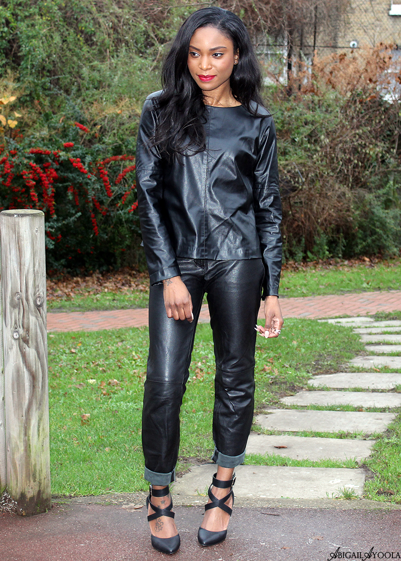 WEARING AN ALL LEATHER OUTFIT