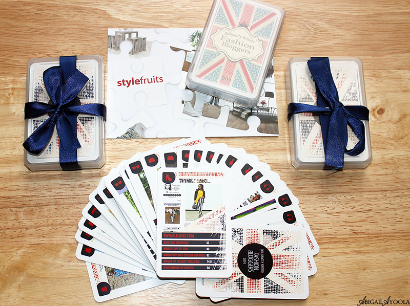 Brilliantly British Fashion Bloggers Card Game By Style Fruits