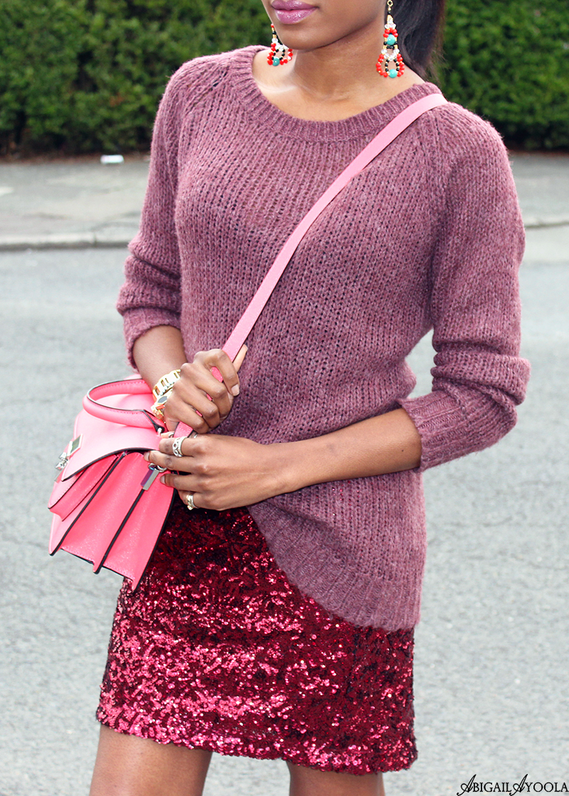 WEARING SEQUINS THE CASUAL WAY