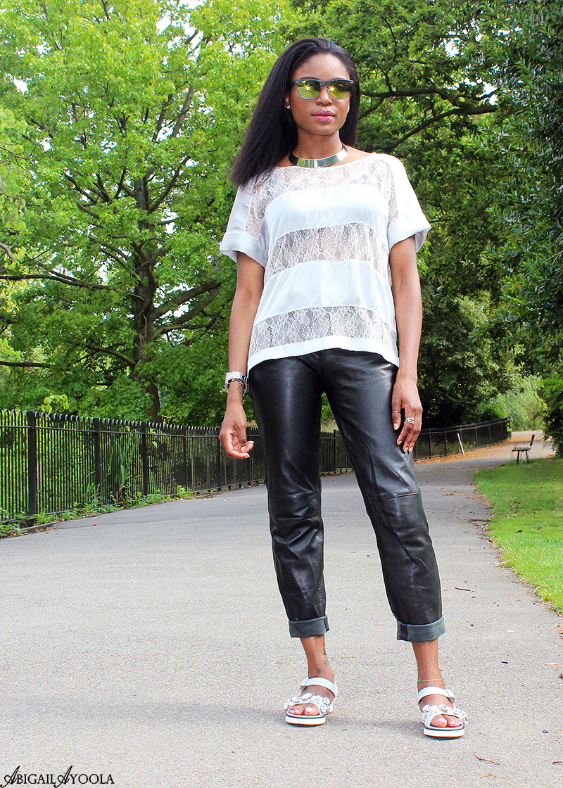 LEATHER & LACE THE CASUAL WAY