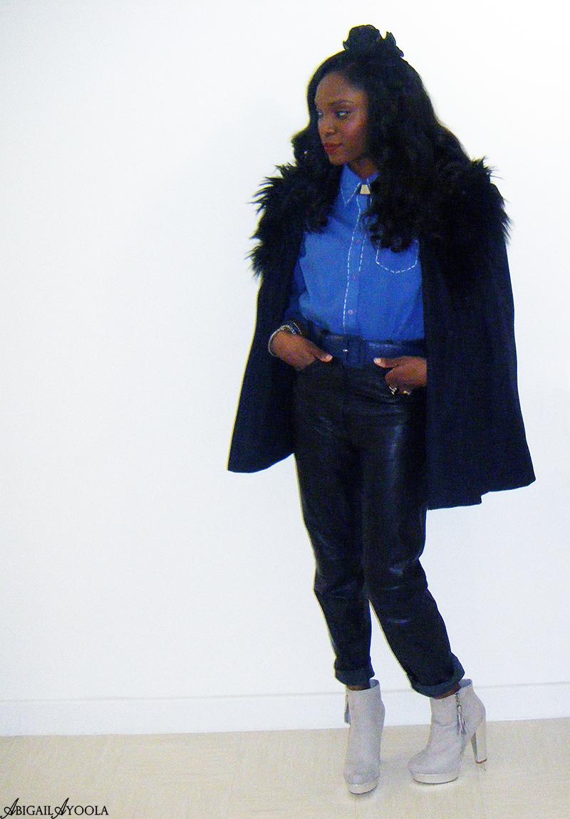WEARING BLUE & BLACK TOGETHER