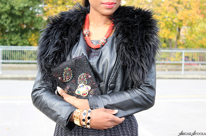 HOW TO DRESS UP DOUBLE LEATHER