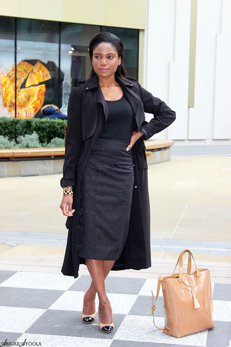 HOW TO WEAR A MAXI TRENCH COAT