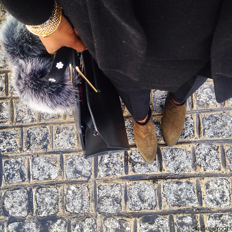 STYLING GREEN CHELSEA BOOTS