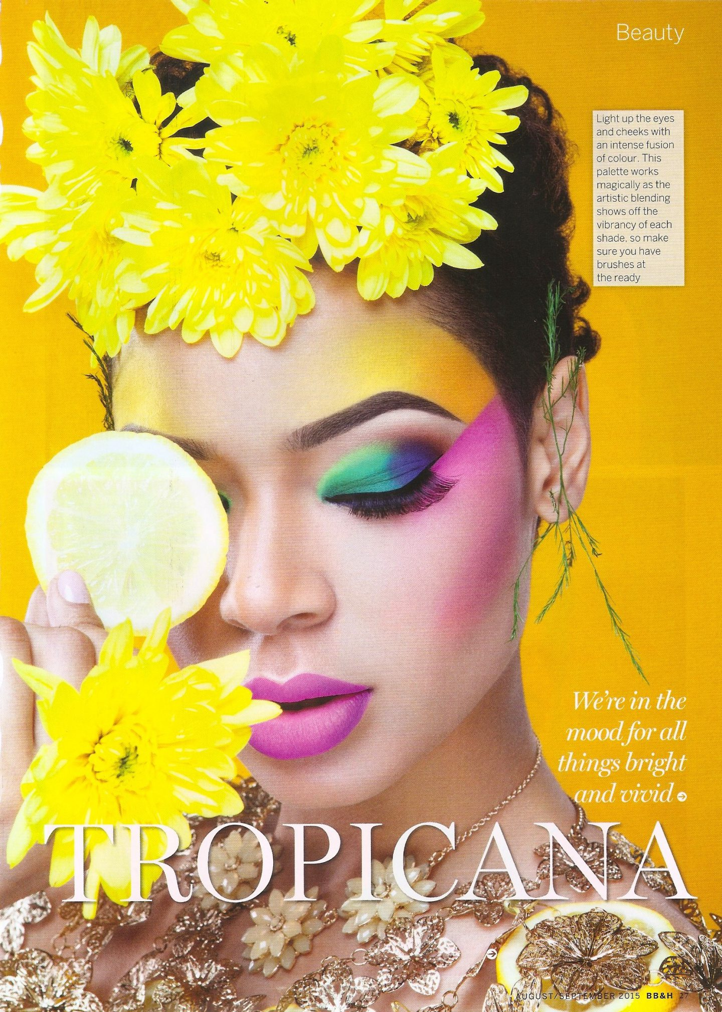 PUBLISHED TROPICANA BEAUTY EDITORIAL
