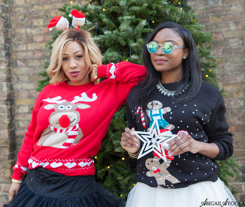 UGLY CHRISTMAS SWEATER STYLE CHALLENGE