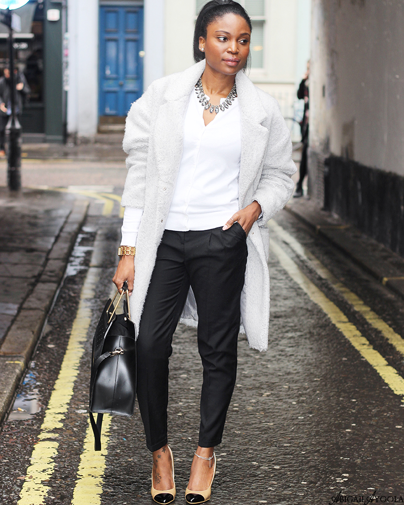 STYLING A WHITE CARDIGAN
