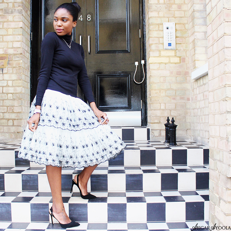 STYLING A TIERED SKIRT