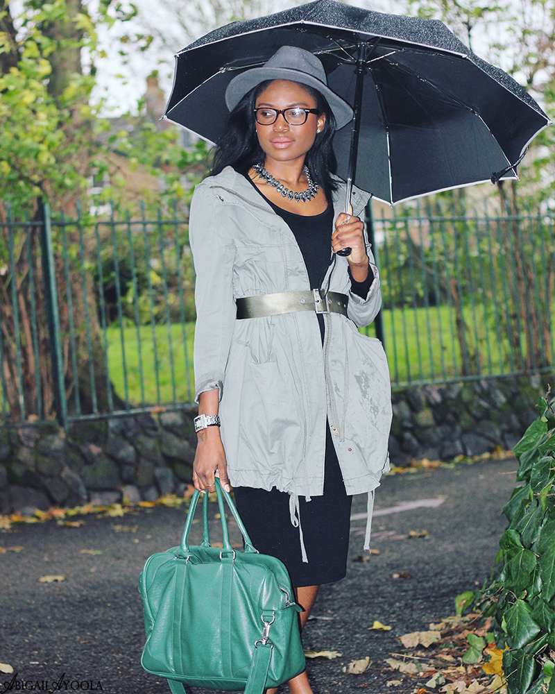 HOW TO STYLE A GREEN PARKA JACKET