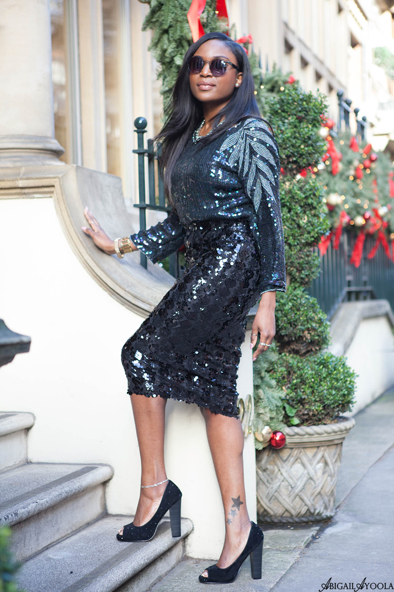 HOW TO WEAR DOUBLE SEQUINS
