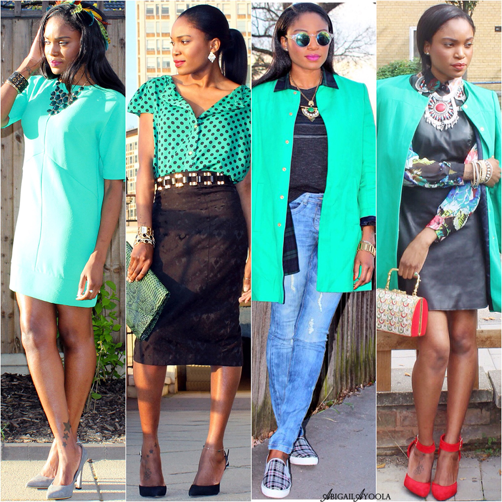 GORGEOUS GREEN OUTFIT IDEAS