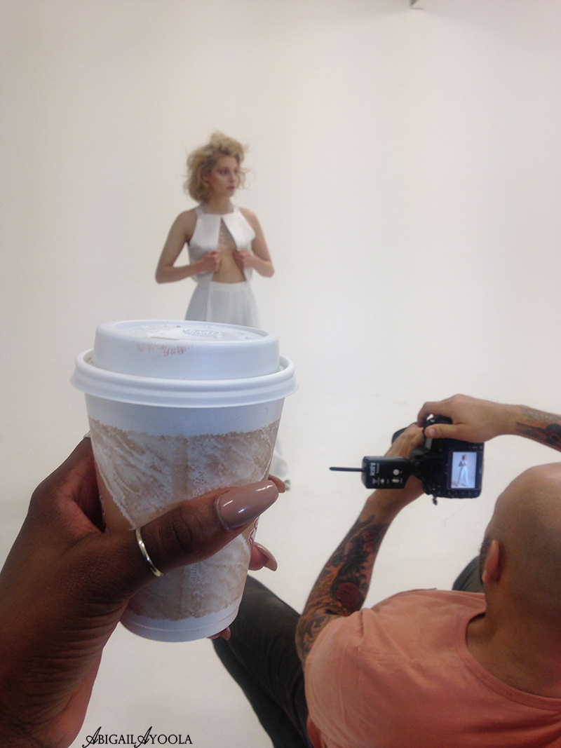 BEHIND THE SCENES OF ALL WHITE EDITORIAL
