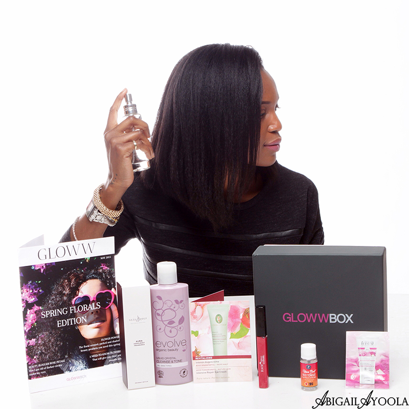 SPRING FLORALS BEAUTY PRODUCTS