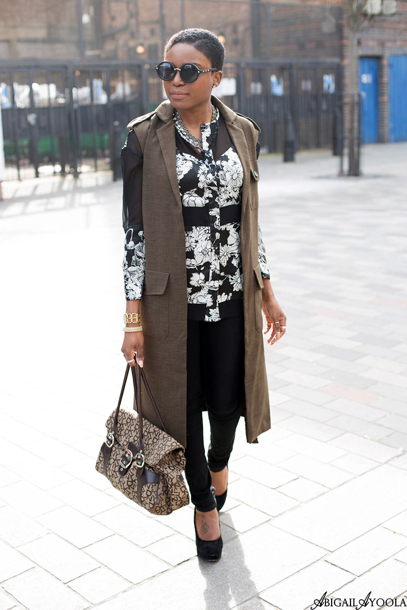 HOW TO LAYER A SILVER FLORAL SHIRT