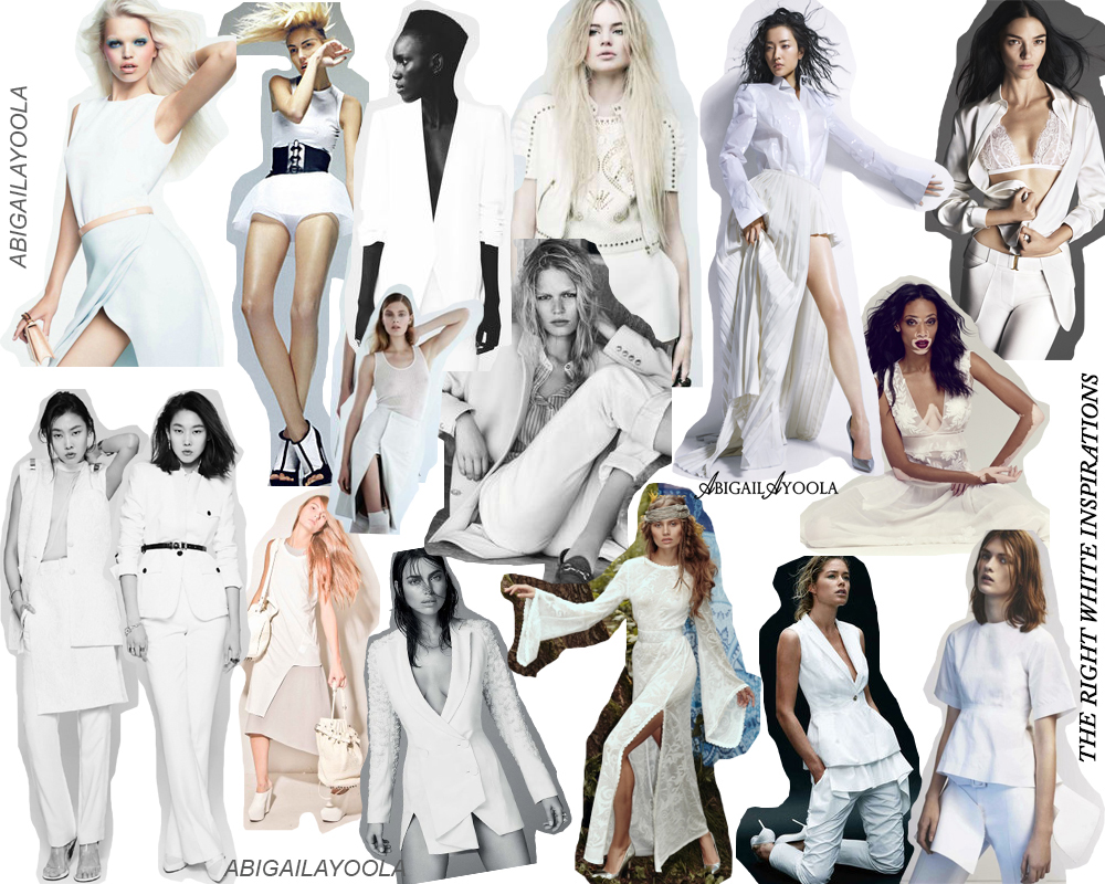 THE RIGHT WHITE MAY MOOD BOARD
